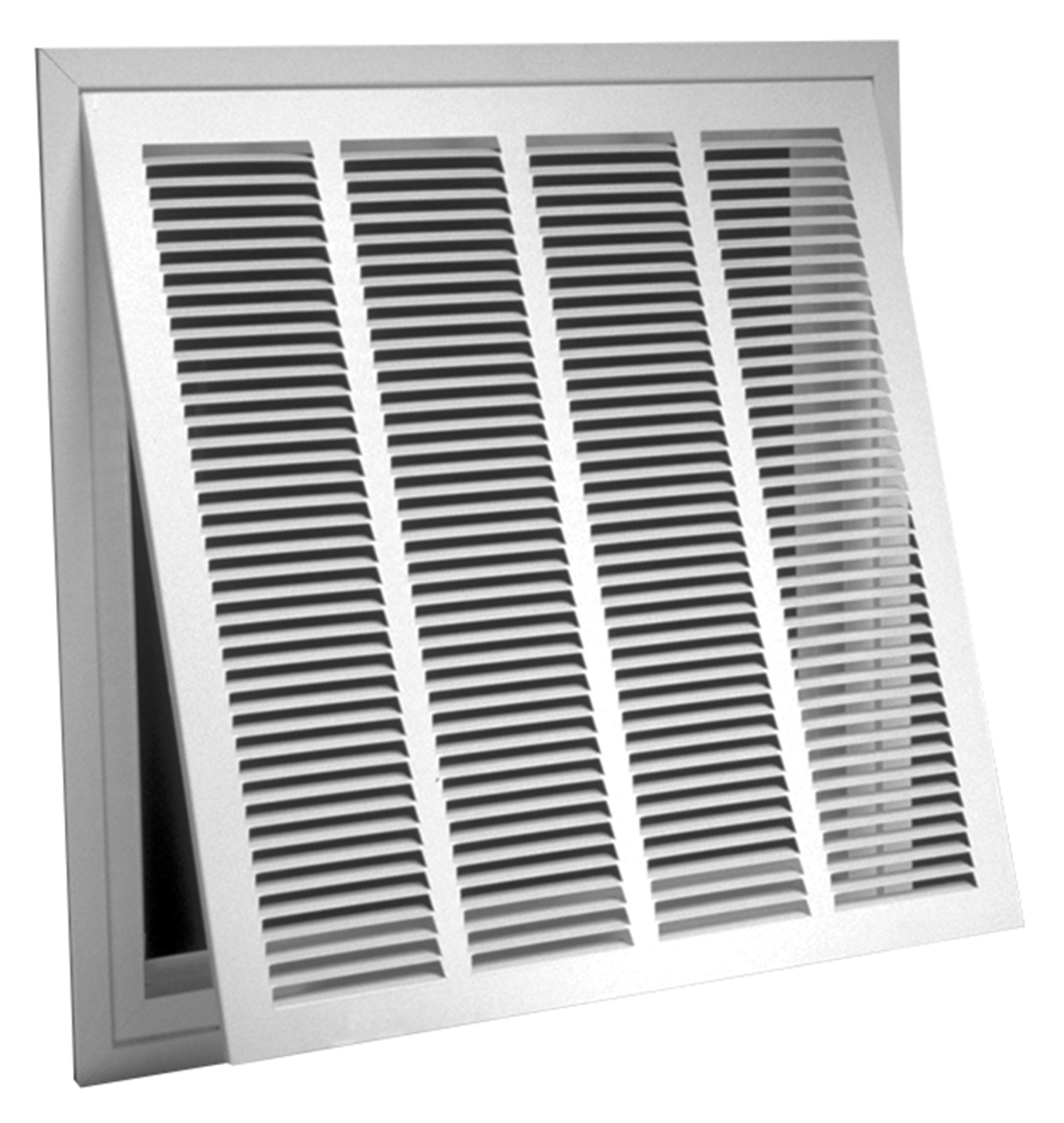 673tpi R6 Steel Lanced Return Air Filter Grille 1 2