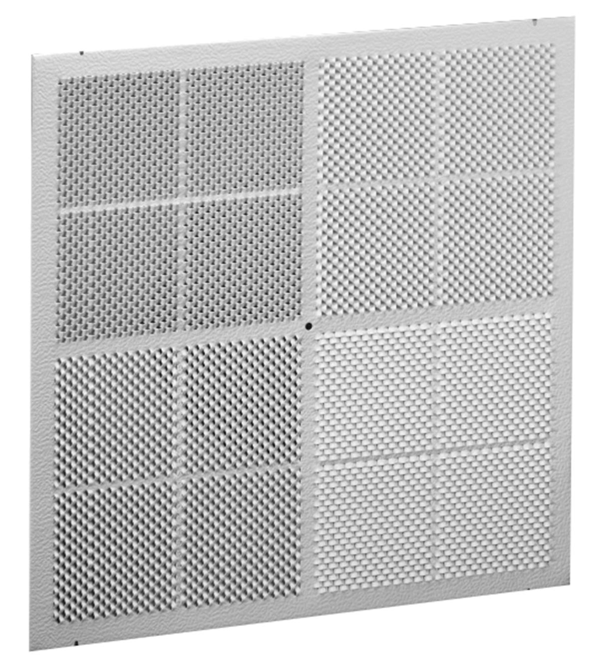 Ren4 Aluminum Renovator Series Diffuser 4 Way Molded