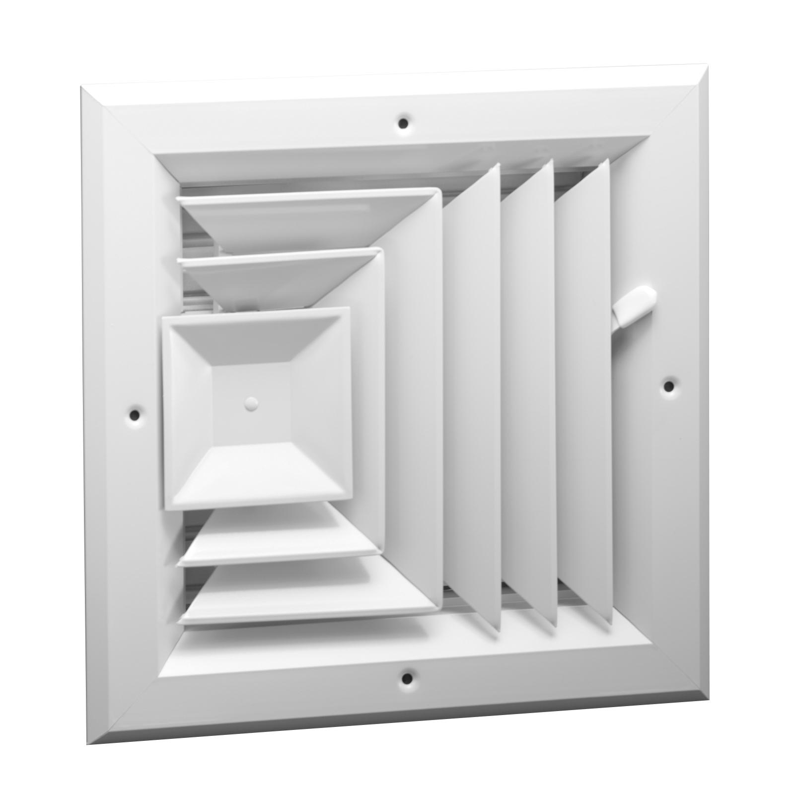 A503 Aluminum 3 Way Ceiling Diffuser Ms Or Obd Damper