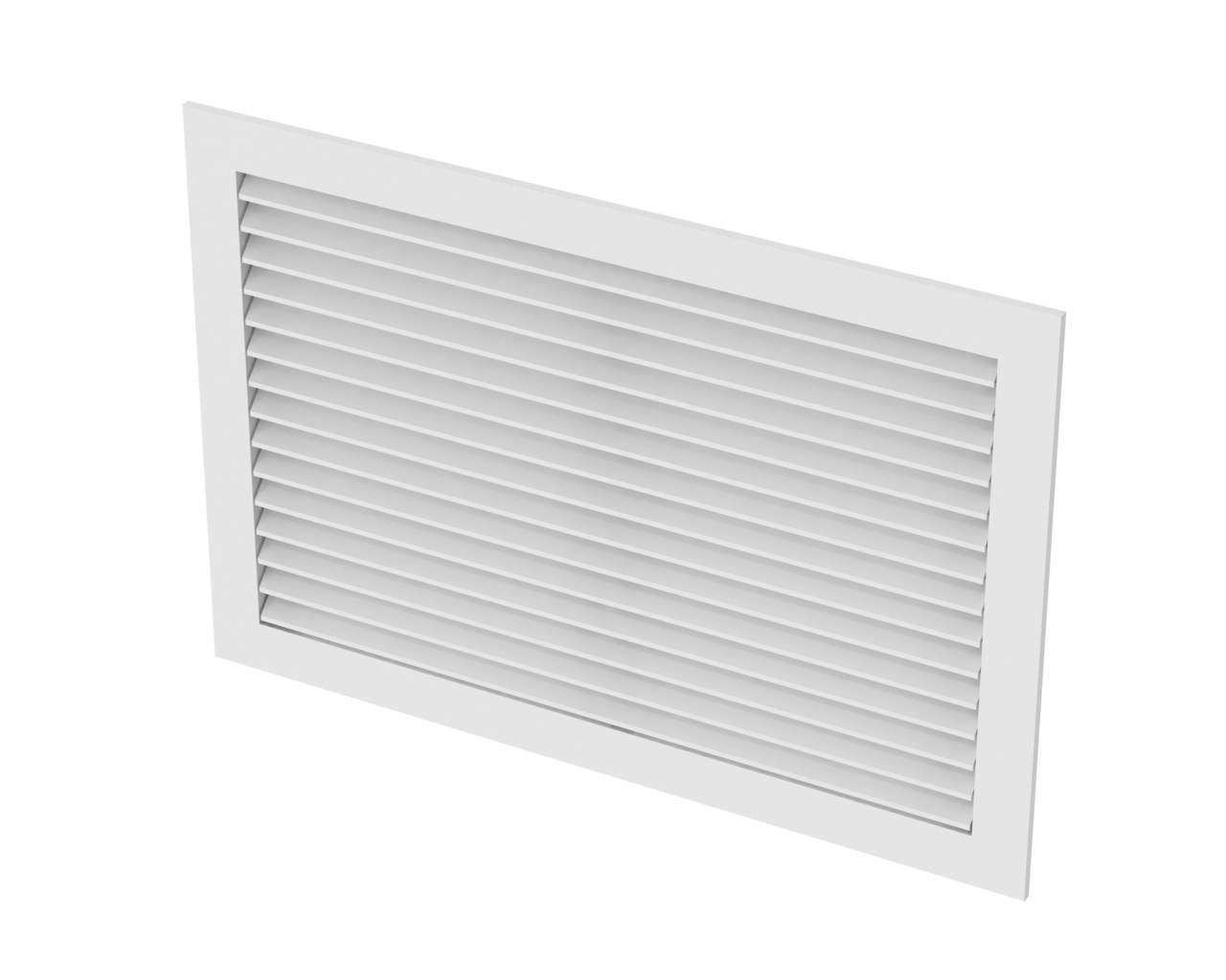 Rhd90 Aluminum Return Air Grille 90 Degree Fixed Blade