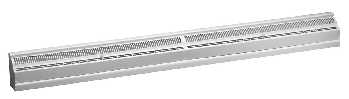 464 — Steel 4 Ft Baseboard Register