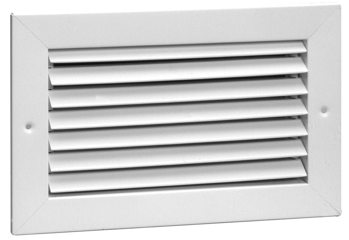 Air Return Registers Grilles : A steel return air grille degree fixed blade