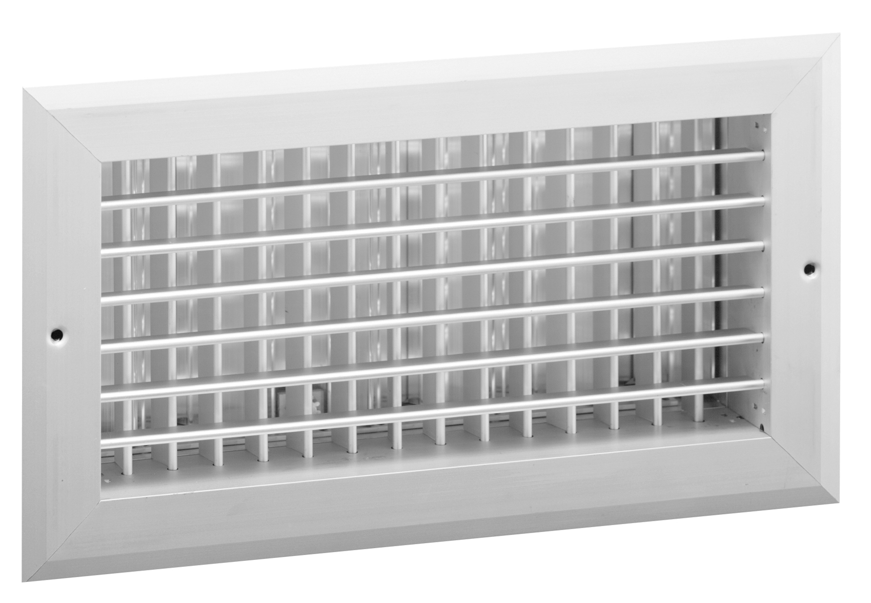 Vhd Aluminum Double Deflection Register With Obd Damper