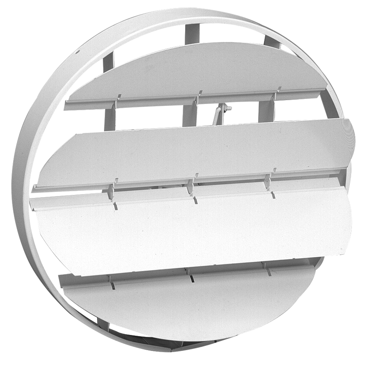 19 Steel Obd Duct Mount Damper For 20 Ceiling Diffuser