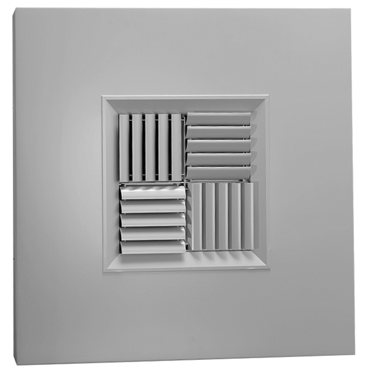 Mcdst Aluminum Modular Core Diffuser In T Bar Panel