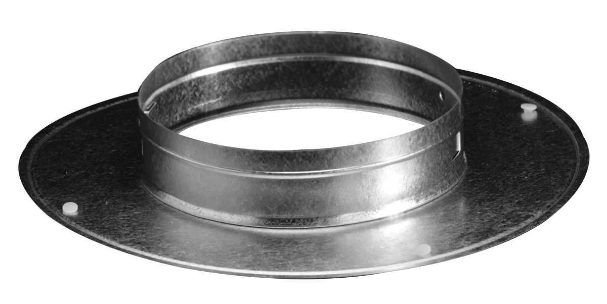 5400 Galvanized Steel Ring Collar 6 18 Quot Hart Amp Cooley