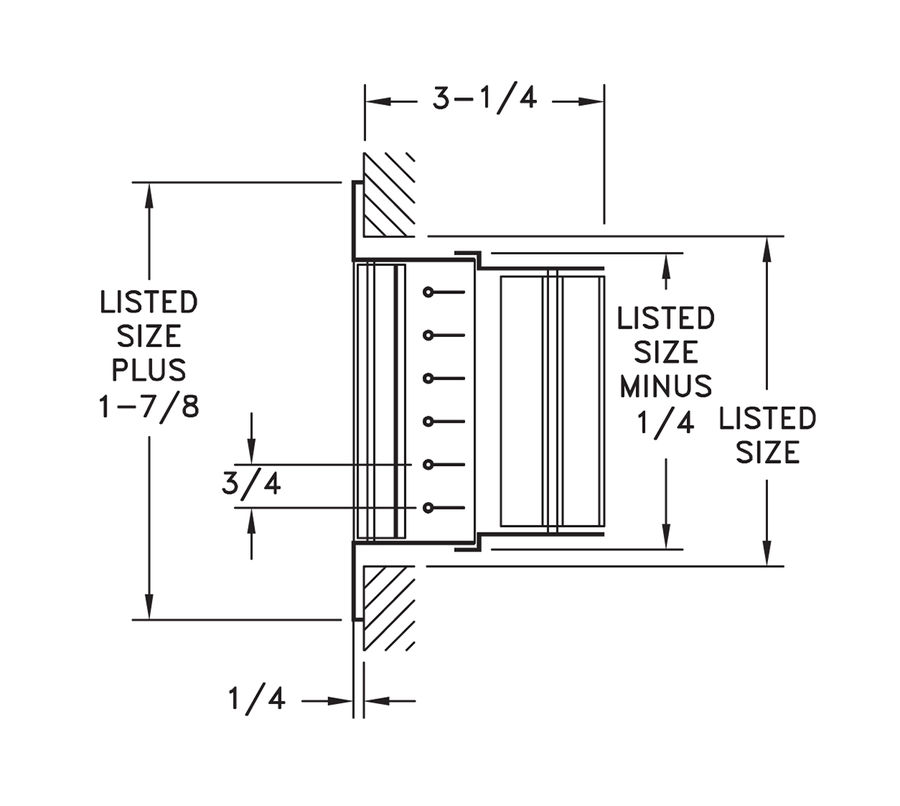 Incredible 92Vhv Steel Double Deflection Register Obd Damper Hart Cooley Wiring Digital Resources Nekoutcompassionincorg