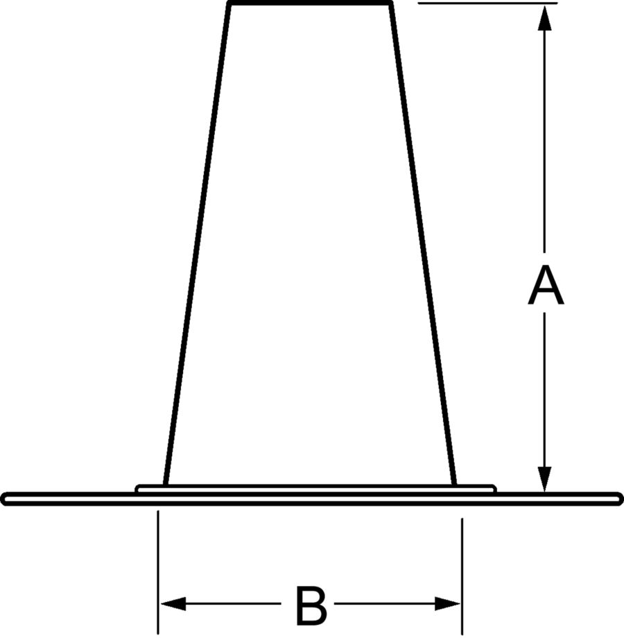 Rtf Tall Cone Roof Flashing Hart Amp Cooley