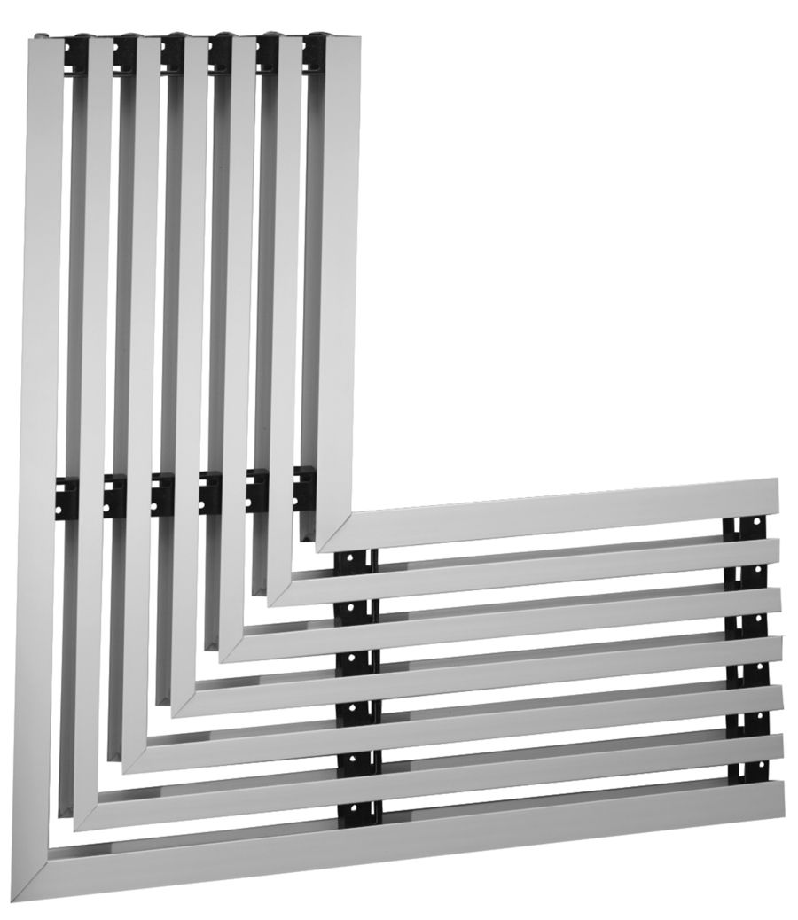 Linear Diffusers And Grilles : S series slot diffuser for ceiling or sidewall
