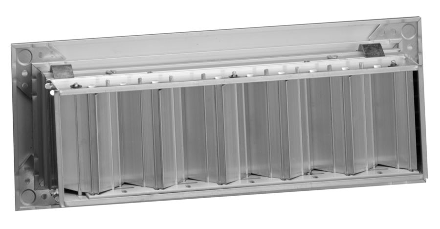 Linear Diffuser With Damper : L series linear diffuser for ceiling sidewall or floor