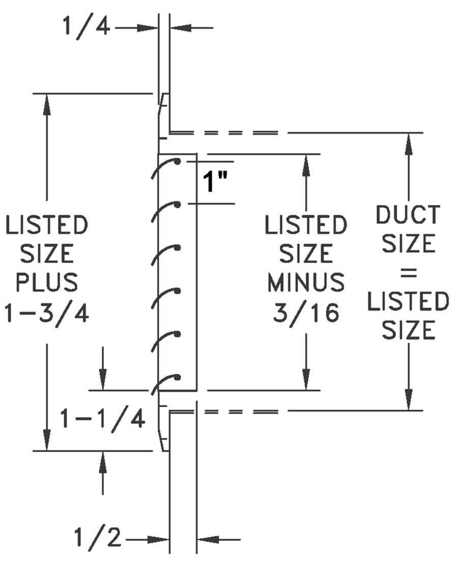 CH1 - Aluminum Curved Blade, 1-way Register, No damper