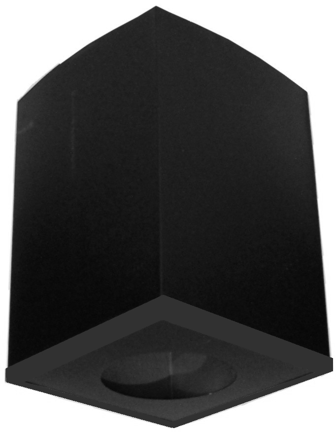 HC_TLCCSS_Cathedral Ceiling Support Box black trim - Model TLC