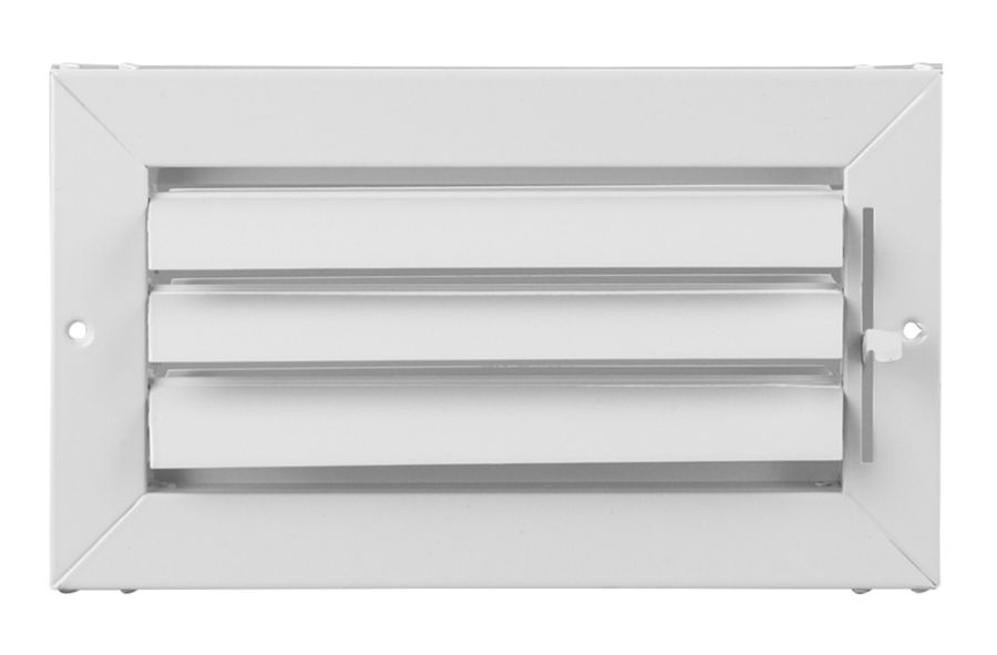 A711ms Adjustable Aluminum Curved Blade 1 Way Register