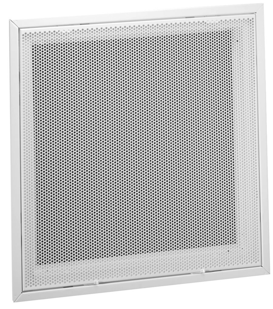 Pft Steel Perforated Face Return Air Filter Grille