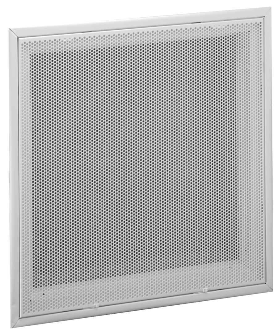 Pfti Steel Perforated Face Return Air Filter Grille