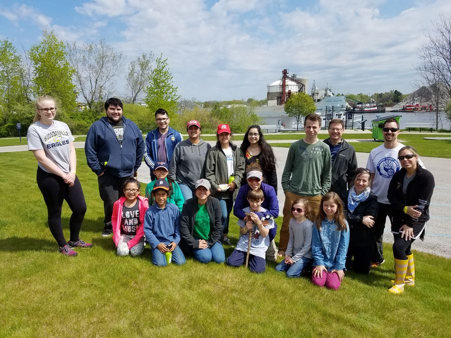Grand River Cleanup Event 2017
