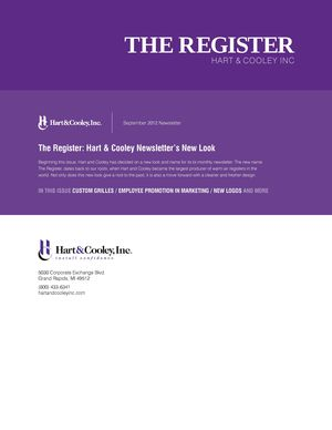 z - Cover Image: The Register: September Edition