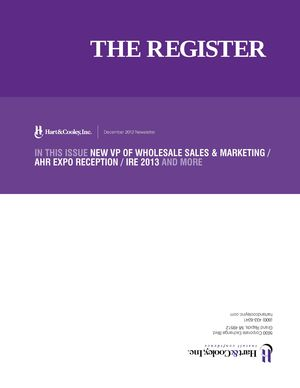 z - Cover Image: The Register: December Edition