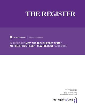 z - Cover Image: The Register: February 2013 Edition