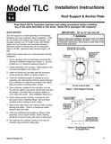 z - Cover Image: TLC Roof Support & Anchor Plate Installation Instructions